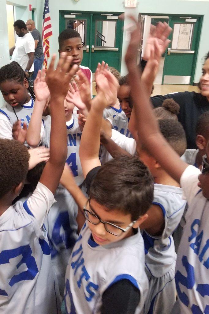 hands up basketball