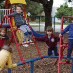 prekindergarten playground climbing