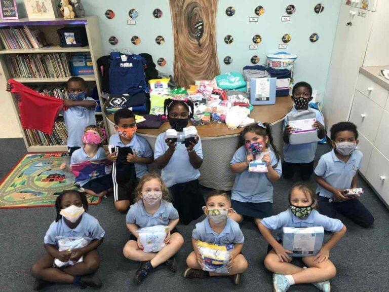 kindergarten service project